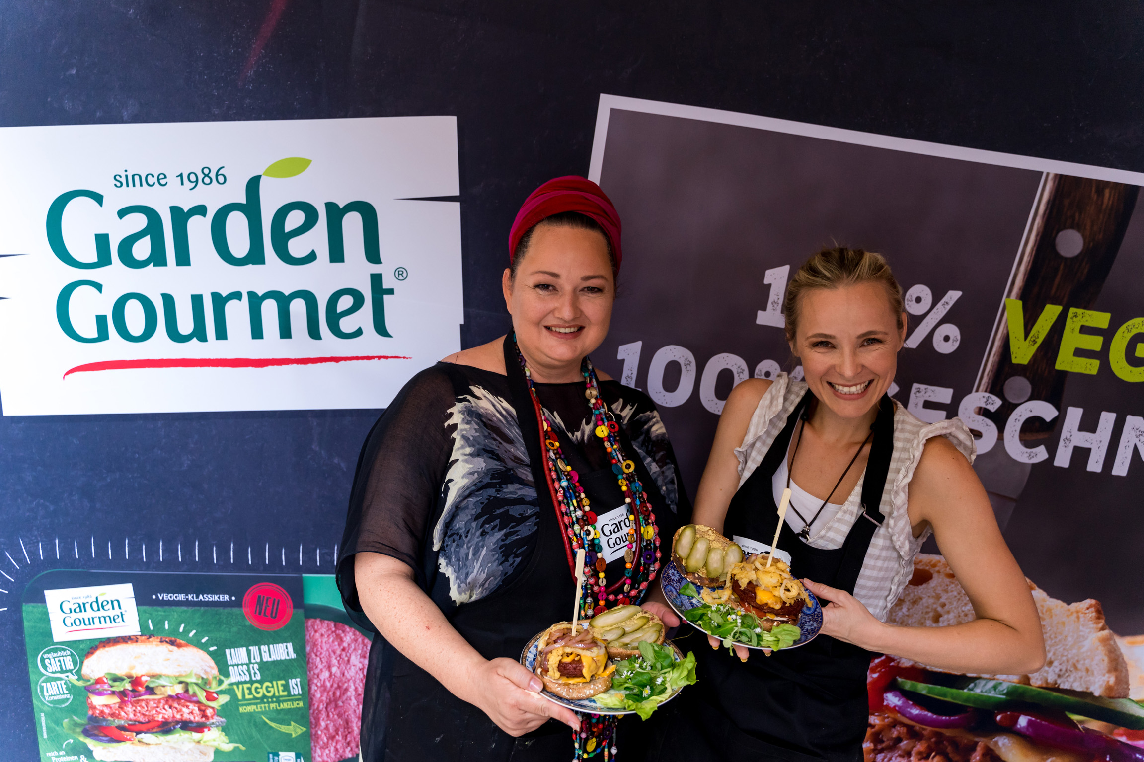 Garden Gourmet Event mit Missy May